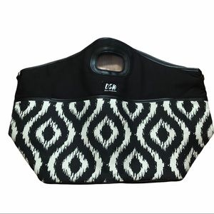 DSW Insulated Large Black/White Bag
